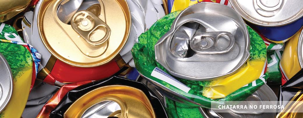 LATAS Y ALUMINIO<br> Compramos latas vacias de cola y todo tipo de materiales de aluminio.